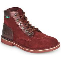 Schuhe Damen Boots Kickers ORILEGEND Bordeaux