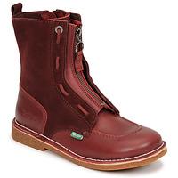 Schuhe Damen Boots Kickers MEETICKROCK Bordeaux