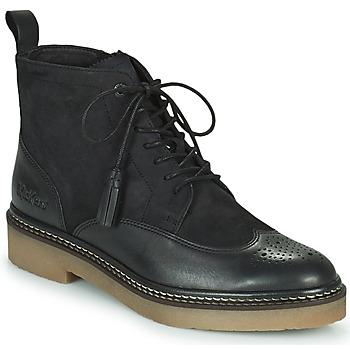 Schuhe Damen Boots Kickers OXANYHIGH Schwarz