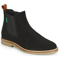 Schuhe Damen Boots Kickers TYGA Schwarz