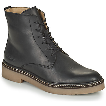 Schuhe Damen Boots Kickers OXIGENO Schwarz