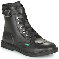Schuhe Damen Boots Kickers KICK TREND Schwarz