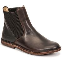 Schuhe Damen Boots Kickers TINTO Braun