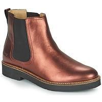 Schuhe Damen Boots Kickers OXFORDCHIC Violett