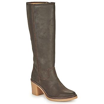 Schuhe Damen Klassische Stiefel Kickers AVEDRIM Braun