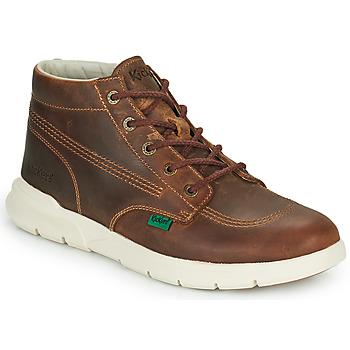 Schuhe Herren Boots Kickers KICKI HI 3 Braun
