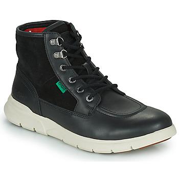 Schuhe Herren Boots Kickers KICKI HI 4 Schwarz