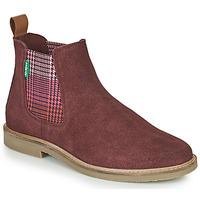 Schuhe Damen Boots Kickers TYGA Bordeaux