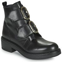 Schuhe Damen Low Boots Myma TELLA Schwarz