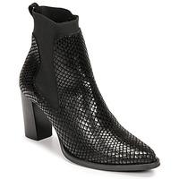 Schuhe Damen Low Boots Myma  Schwarz
