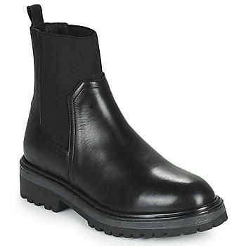 Schuhe Damen Boots Myma TITUA Schwarz
