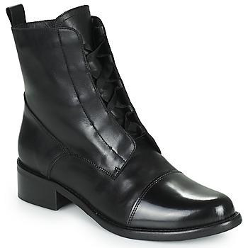 Schuhe Damen Boots Myma TALALA Schwarz