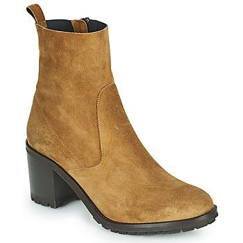 Schuhe Damen Low Boots Myma TALULU Beige