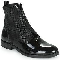 Schuhe Damen Boots Myma TUALINA Schwarz
