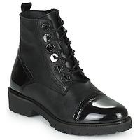 Schuhe Damen Boots Myma TUATA Schwarz