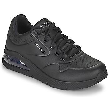Schuhe Damen Sneaker Low Skechers UNO 2 Schwarz