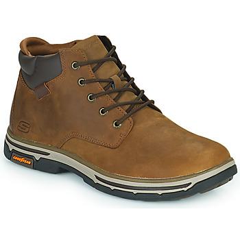 Schuhe Herren Boots Skechers SEGMENT 2.0 Braun