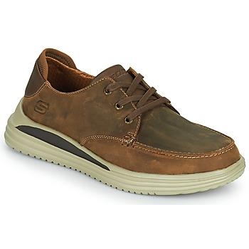 Schuhe Herren Sneaker Low Skechers PROVEN Braun