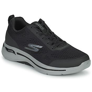 Schuhe Herren Sneaker Low Skechers GO WALK ARCH FIT Schwarz