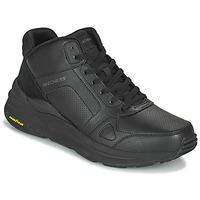 Schuhe Herren Sneaker High Skechers GLOBAL JOGGER Schwarz