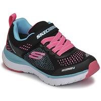 Schuhe Mädchen Sneaker Low Skechers ULTRA GROOVE Schwarz / Rose / Blau
