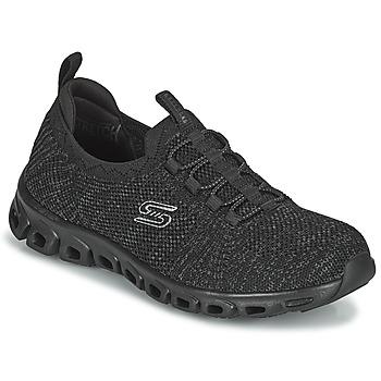 Schuhe Damen Sneaker Low Skechers GLIDE-STEP Schwarz