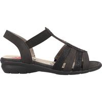 Schuhe Damen Sandalen / Sandaletten Relife Sandalen Schwarz