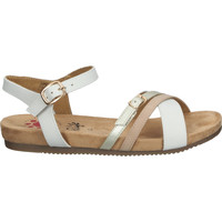 Schuhe Damen Sandalen / Sandaletten Relife Sandalen Weiß/Beige
