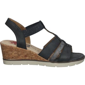 Schuhe Damen Sandalen / Sandaletten Relife Sandalen Dunkelblau