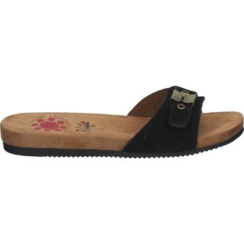 Schuhe Damen Pantoffel Relife Pantoletten Schwarz