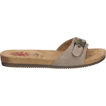 Schuhe Damen Pantoffel Relife Pantoletten Beige