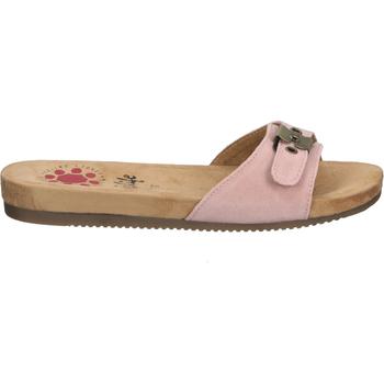 Schuhe Damen Pantoffel Relife Pantoletten Rosa