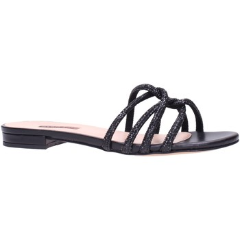 Schuhe Damen Pantoffel Albano 8120 Multicolore