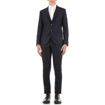 Kleidung Herren Anzüge Manuel Ritz 3030A3328-213032 Blau