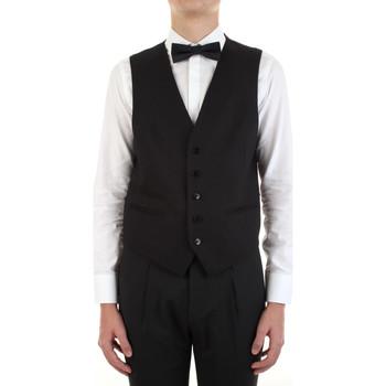 Kleidung Herren Anzugweste Manuel Ritz 3030W9077-213029 Schwarz