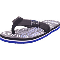 Schuhe Zehensandalen Hengst - P69425 black/blue