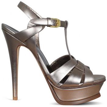 Schuhe Kinder Sandalen / Sandaletten Saint Laurent  Beige