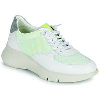Schuhe Damen Sneaker Low Hispanitas CUZCO Weiss / Gelb