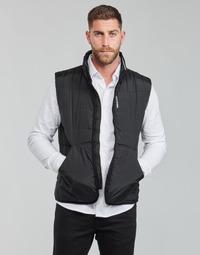 Kleidung Herren Daunenjacken Calvin Klein Jeans PADDED VEST Schwarz