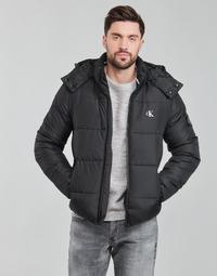 Kleidung Herren Daunenjacken Calvin Klein Jeans ESSENTIALS NON DOWN JACKET Schwarz