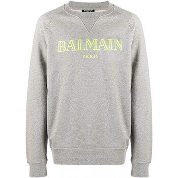 Kleidung Herren Sweatshirts Balmain SH13279 Grau