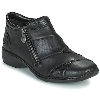 Schuhe Damen Boots Rieker SALOMA Marine