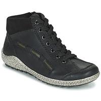 Schuhe Damen Boots Rieker GUERINA Marine