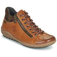 Schuhe Damen Boots Rieker KAMELO Braun