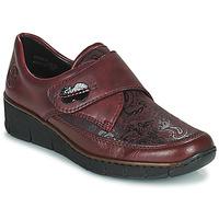 Schuhe Damen Derby-Schuhe Rieker BOLLE Bordeaux