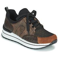 Schuhe Damen Sneaker Low Rieker TEMPORA Braun