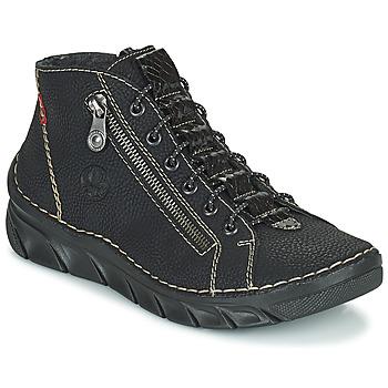 Schuhe Damen Boots Rieker MEMOIRA Schwarz