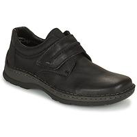 Schuhe Herren Derby-Schuhe Rieker EARNA Schwarz