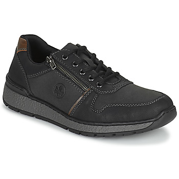 Schuhe Herren Derby-Schuhe Rieker FOLLON Schwarz