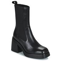 Schuhe Damen Low Boots Vagabond Shoemakers BROOKE Schwarz